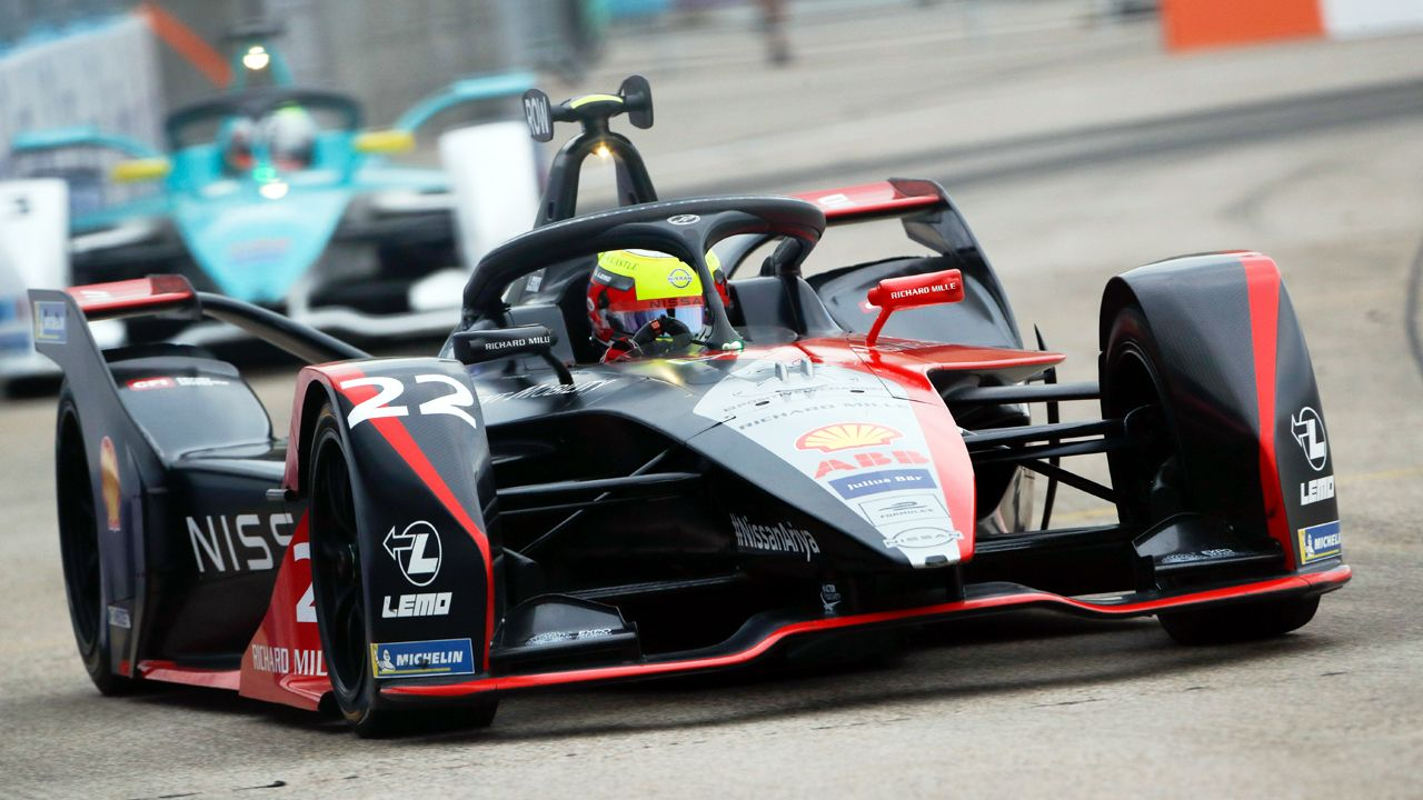 2020 Formula E Berlin Nissan Oliver Rowland