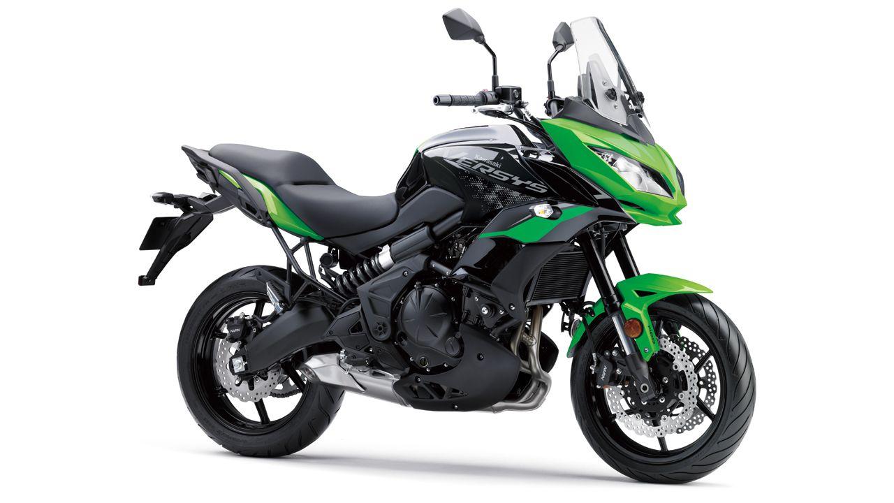2020 Kawasaki Versys 650 BS6 Candy Lime Green