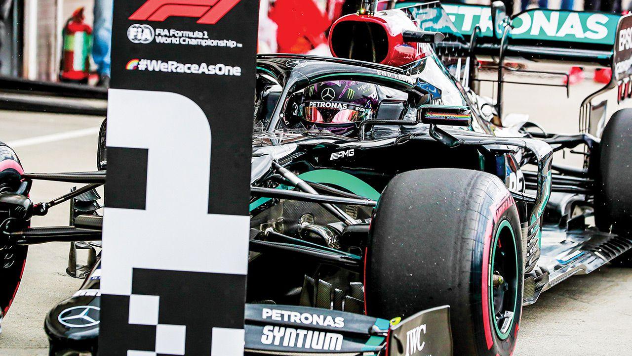 2020 Mercedes F1 Car