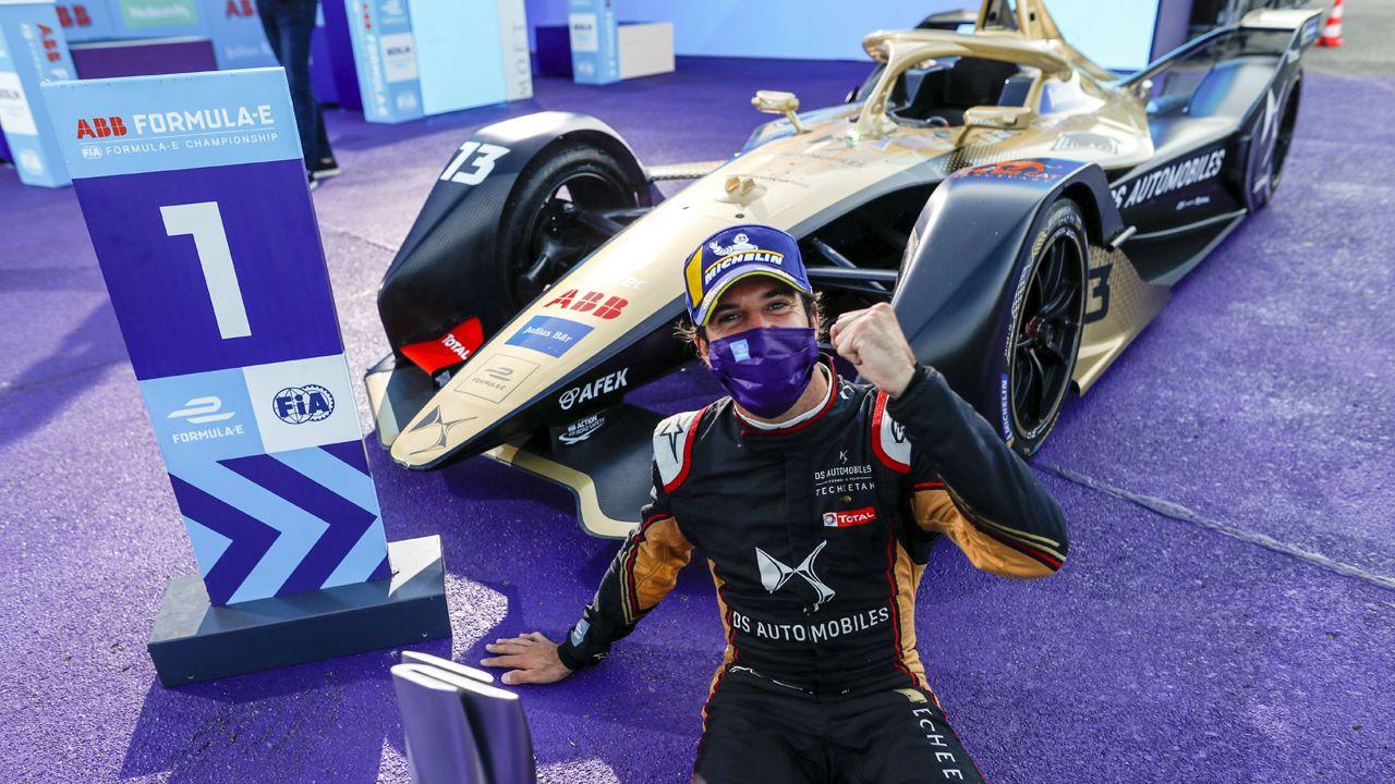 Antonio Felix Da Costa Wins 2020 Berlin EPrix Finale 1