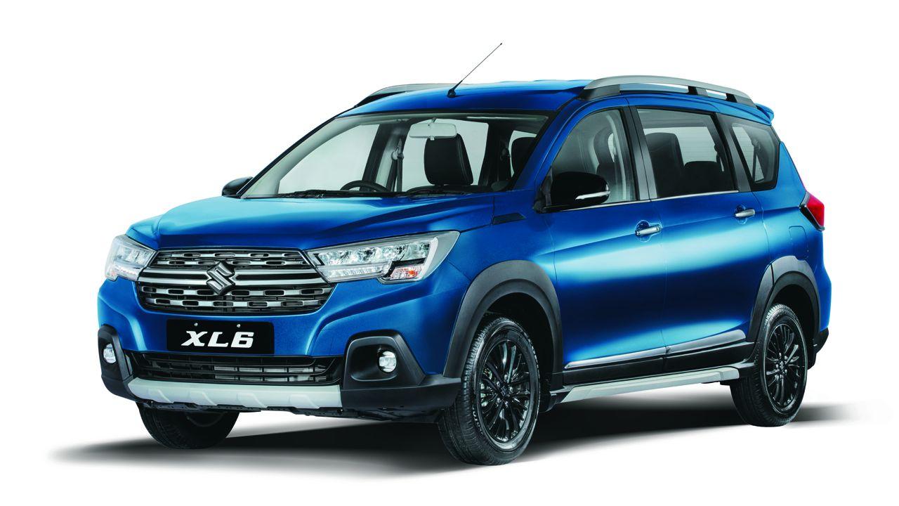 Maruti Suzuki XL6 Blue