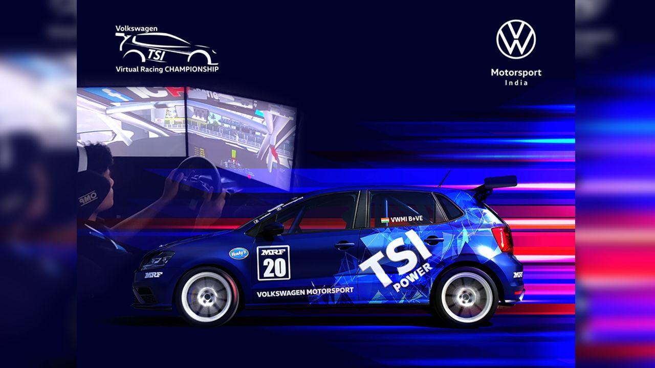 Volkswagen Motorsport India Virtual Racing Championship