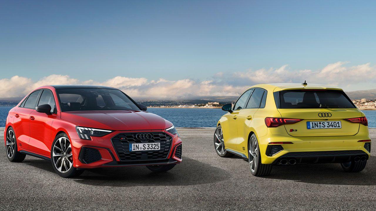 Audi S3 Sedan And Sportback