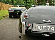 jaguar xk 120 jag e type rear
