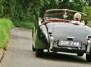 jaguar xk120 rear