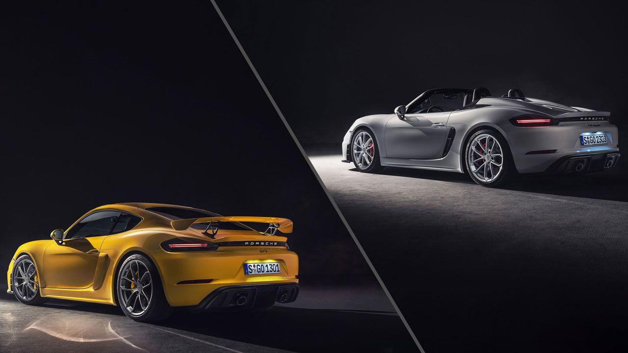 Porsche 718 Cayman Spyder