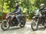 tvs apache rtr 200 4v vs hero xpulse 200 comparison