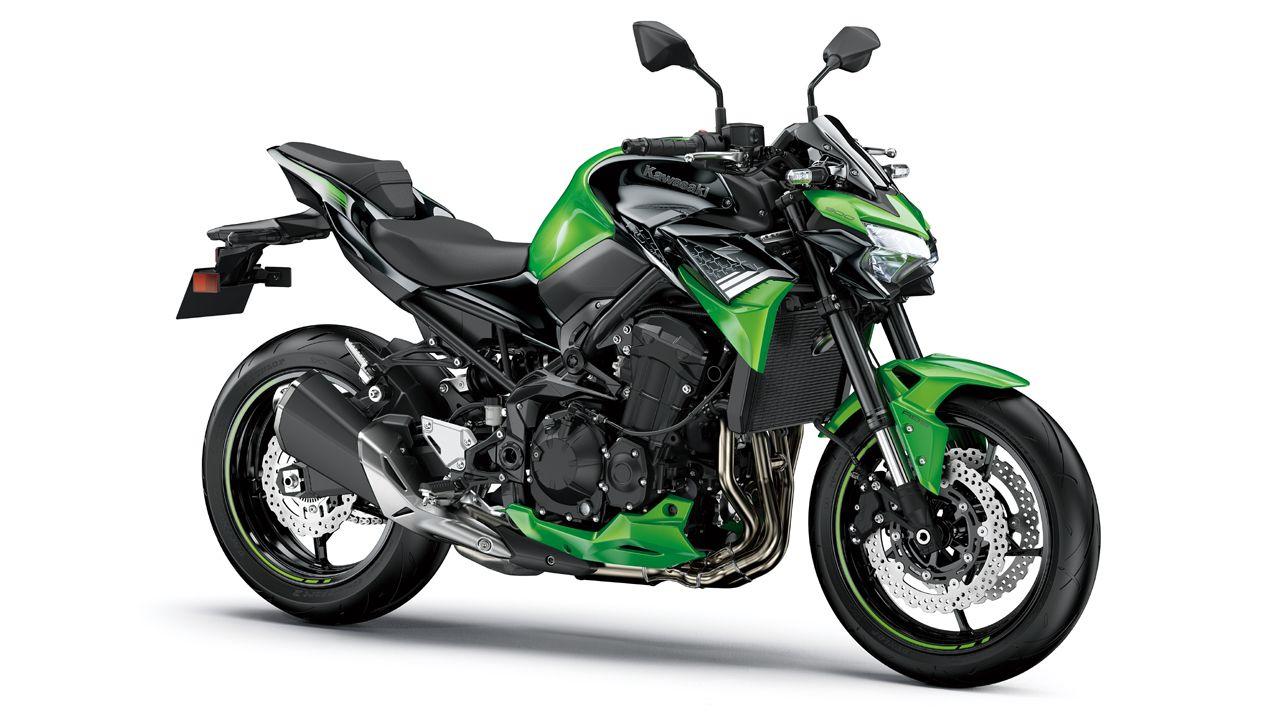 2020 Kawasaki Z900 BS6 Candy Lime Green