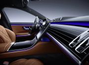 2021 Mercedes Benz S Class Dashboard Side View