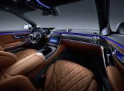 2021 Mercedes Benz S Class Interior Wide Shot