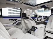 2021 Mercedes Benz S Class Ivory Interior Upholstery