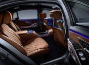 2021 Mercedes Benz S Class Rear Seat and Door