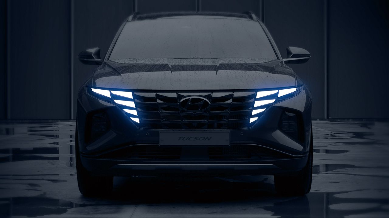 All New Hyundai Tucson Teaser