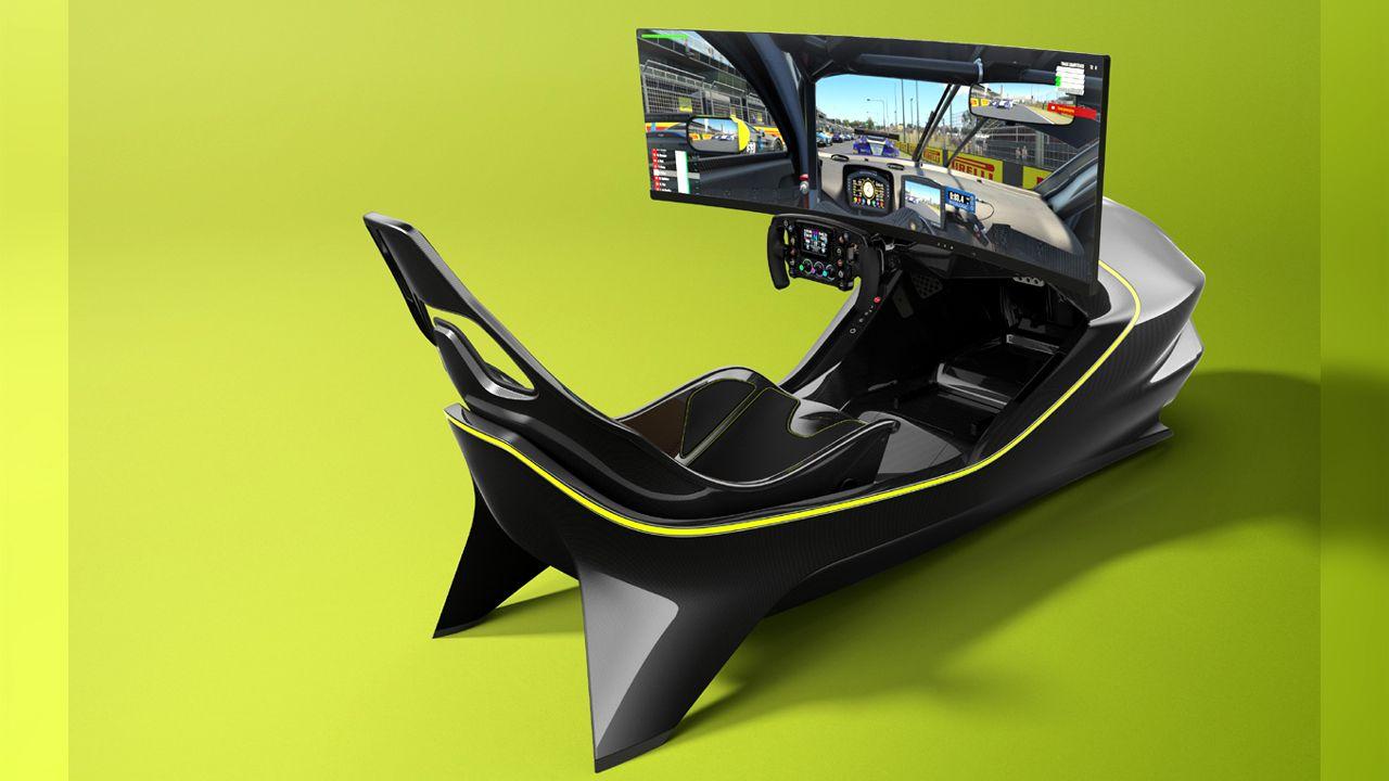 Aston Martin Racing Simulator AMR C01