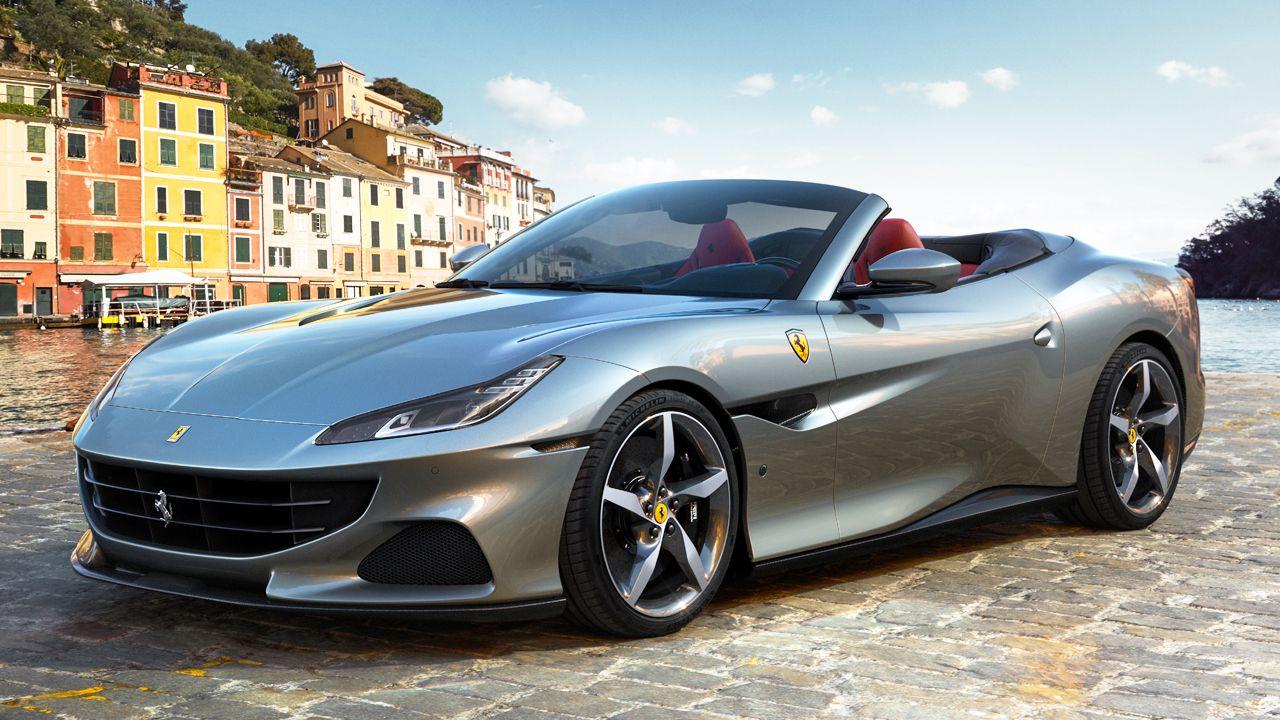 Ferrari Portofino M Front Quarter Static