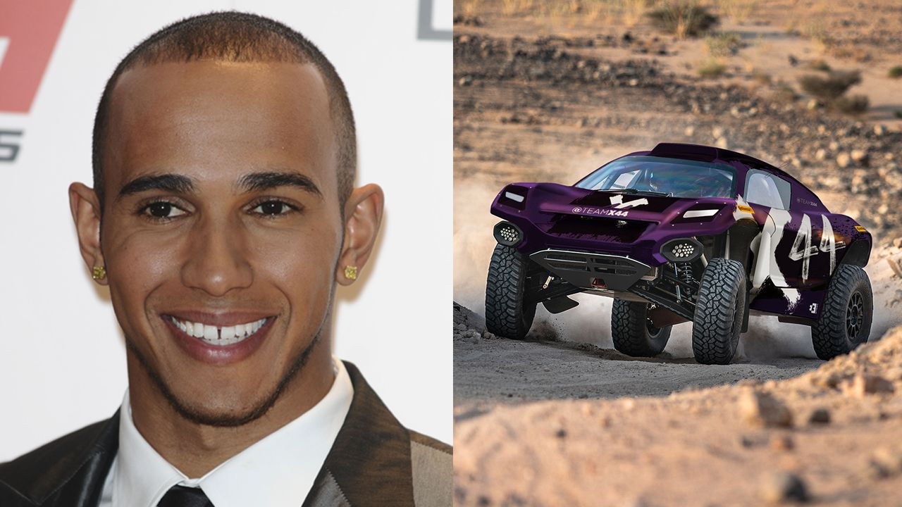 Lewis Hamilton Creates Team X44 For Extreme E Racing Series