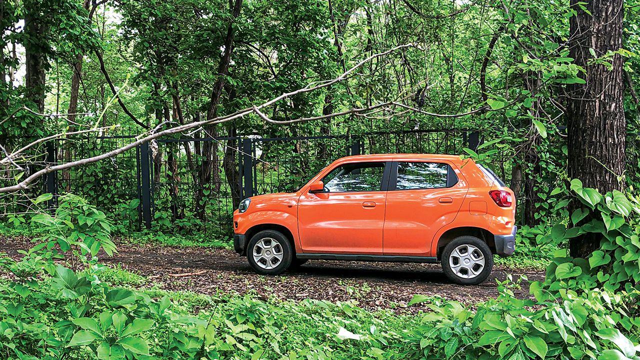 Maruti Suzuki S Presso Side View