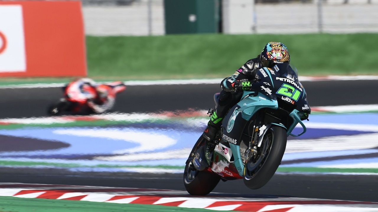 Morbidelli Wins San Marino GP