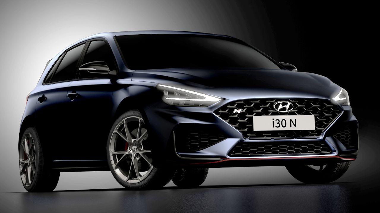 New Hyundai I30 N Teaser Front Quarter