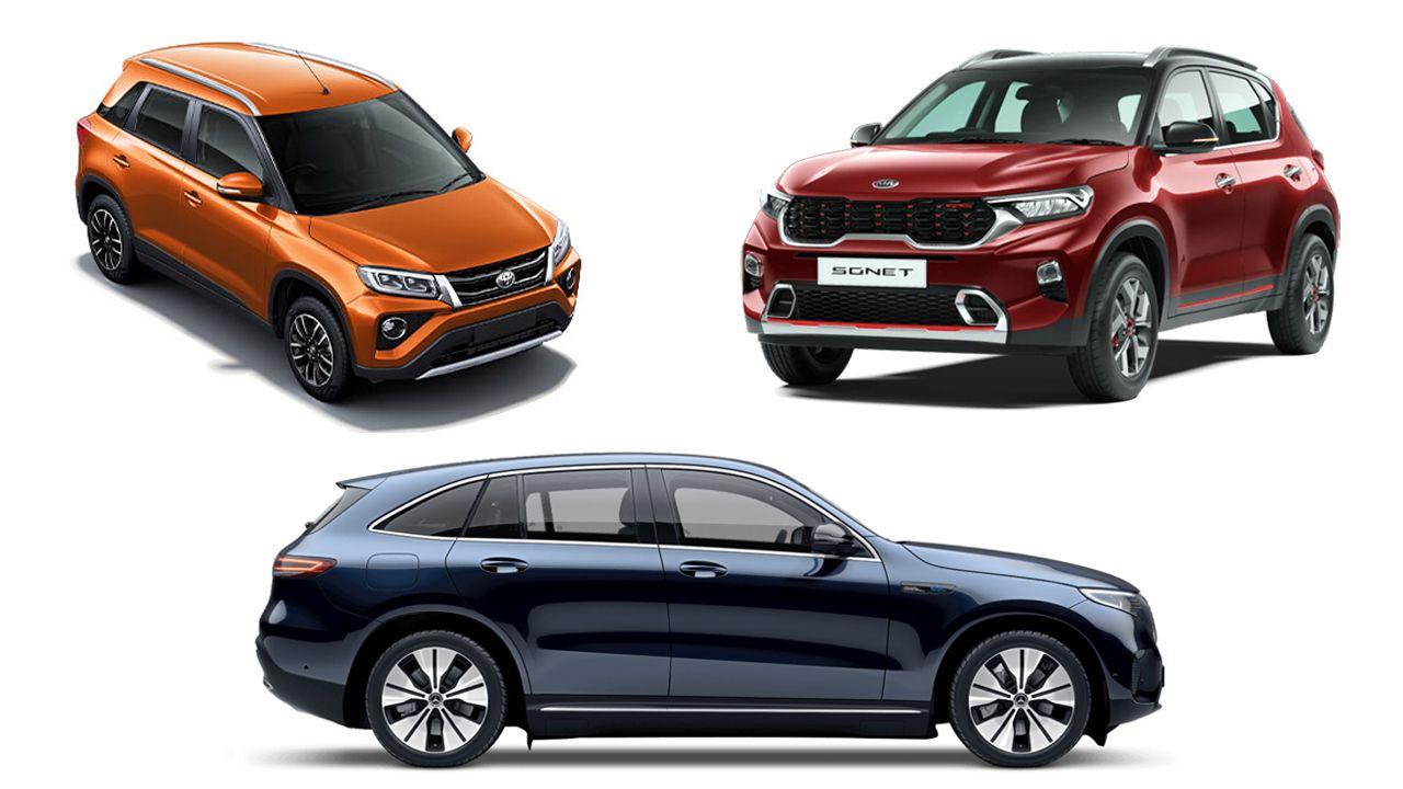 SUVs Launching In September 2020 Kia Sonet Toyota Urban Cruiser And Mercedes EQC