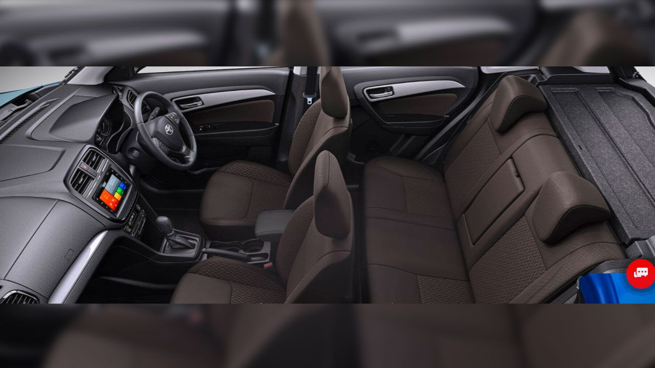 Toyota Urban Cruiser Interior