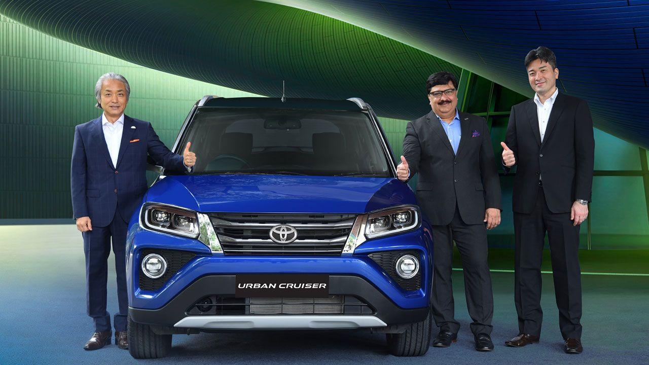 Toyota Urban Cruiser Launch