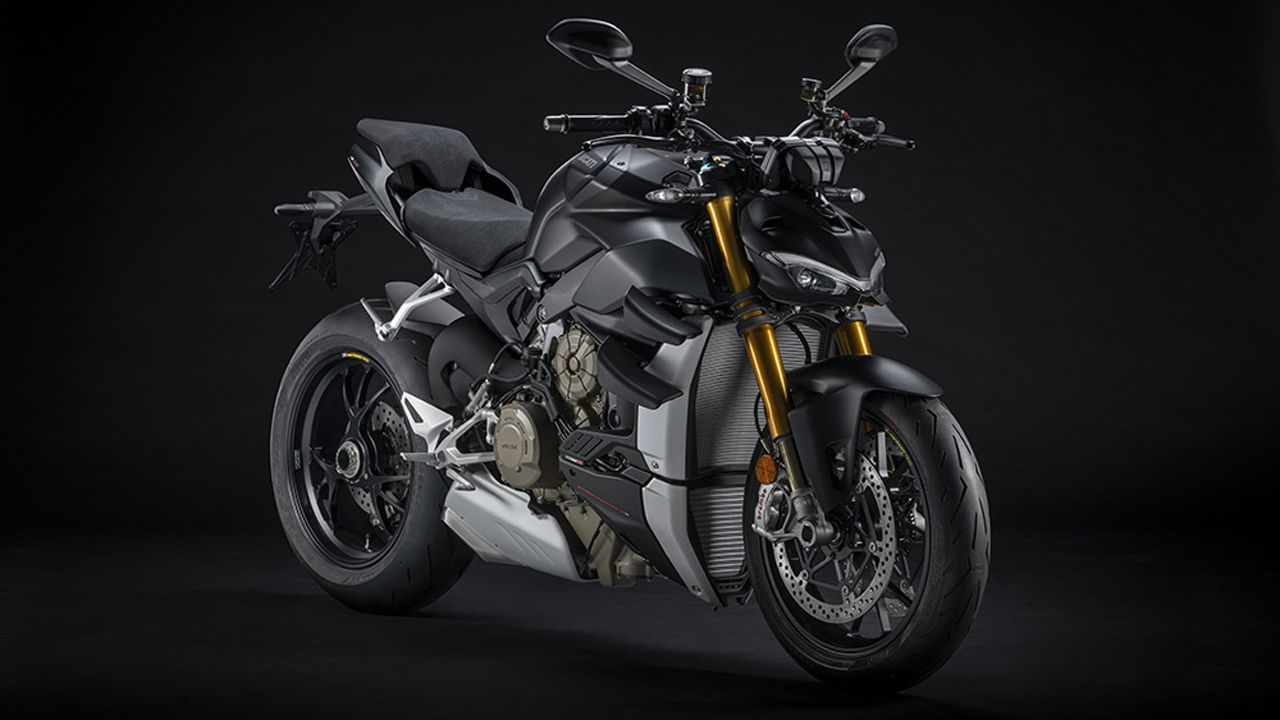 2021 Ducati Streetfighter V4 S Dark Stealth