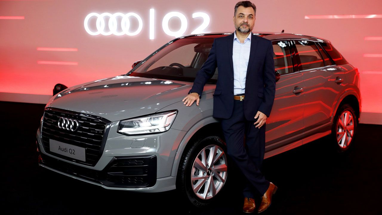 Balbir Singh Dhillon Head Of Audi India With Audi Q2