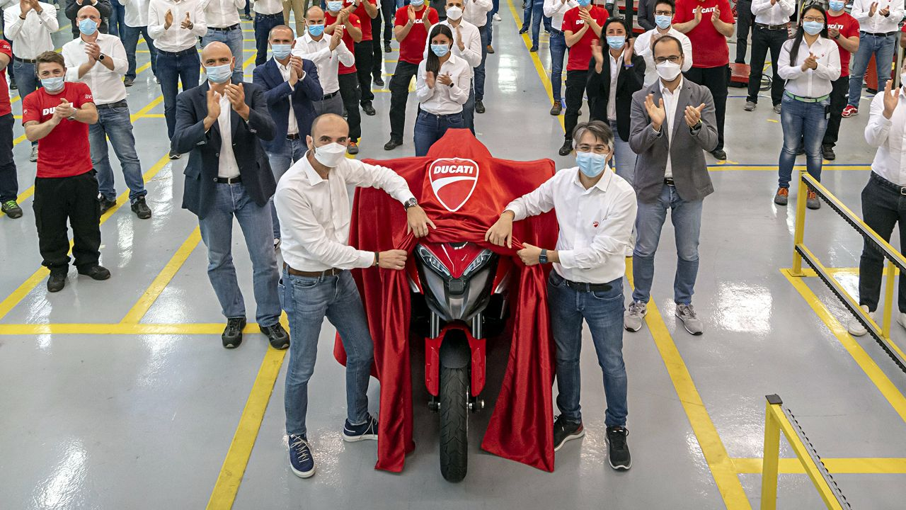 Ducati Multistrada V4 Enters Production At Borgo Panigale