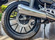 Honda H ness CB350 rear tyre1