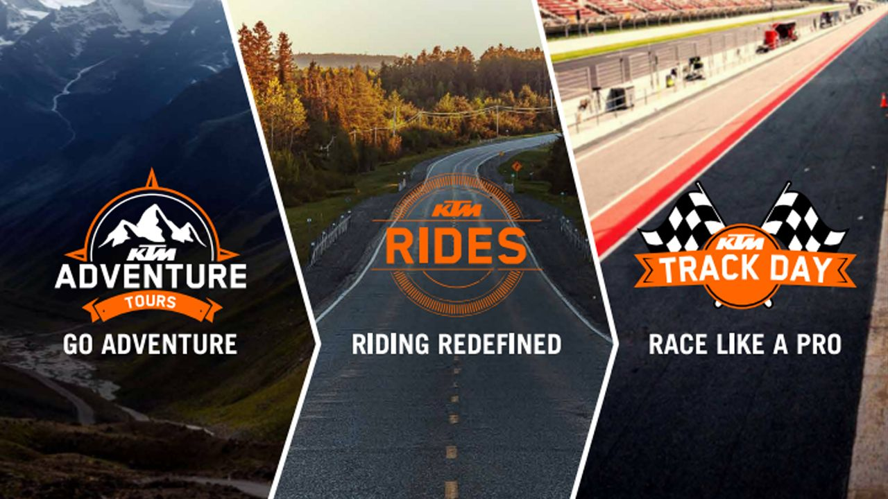 KTM Announces Pro Experiences For Customers In India