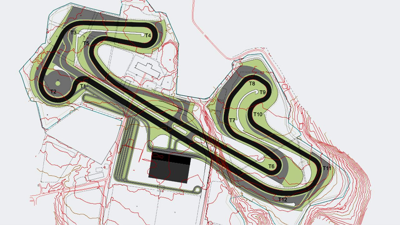 Nanoli Speedway Final Plan