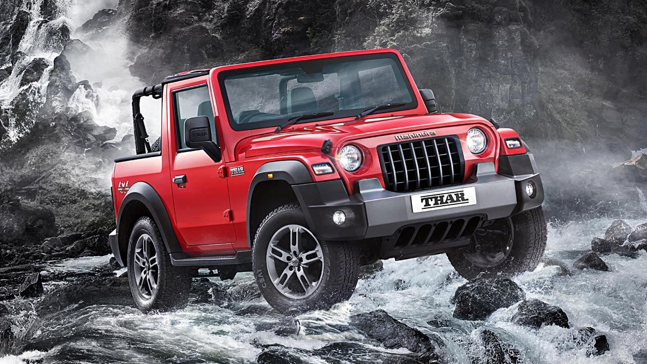 New Mahindra Thar Variants Explained