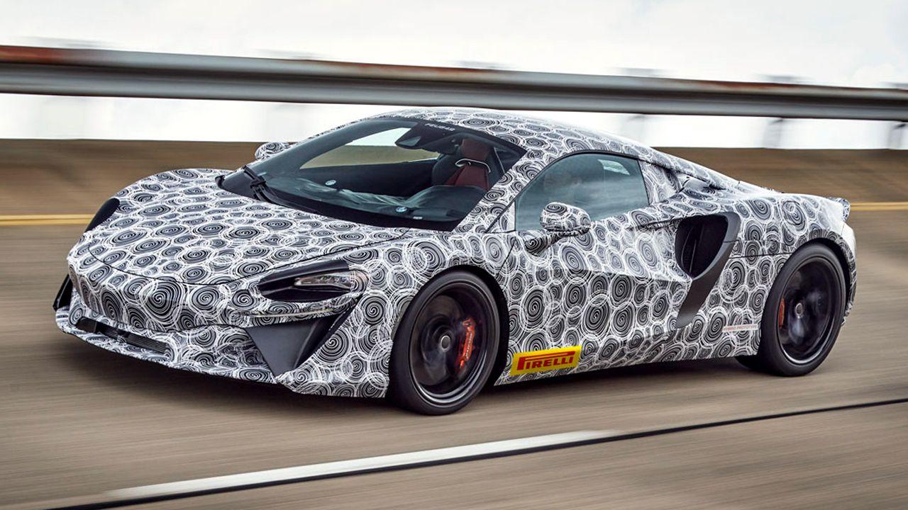 New McLaren PHEV Prototype