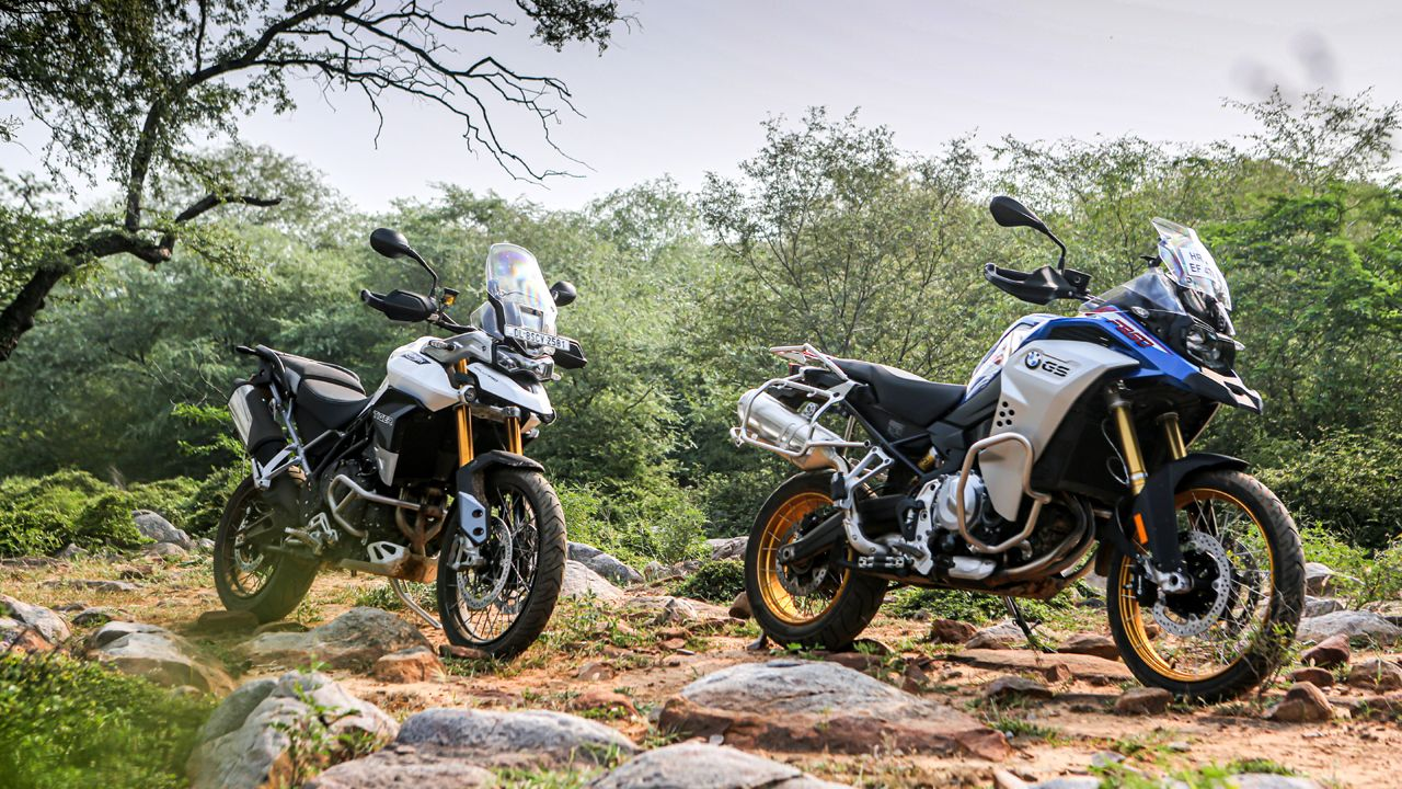 Triumph Tiger 900 Rally Pro Vs BMW F 850 GS Adventure