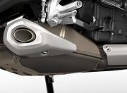 Triumph Trident 660 Silencer Close Up