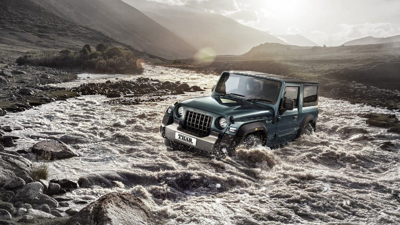All New Mahindra Thar 9000 Bookings River Crossing