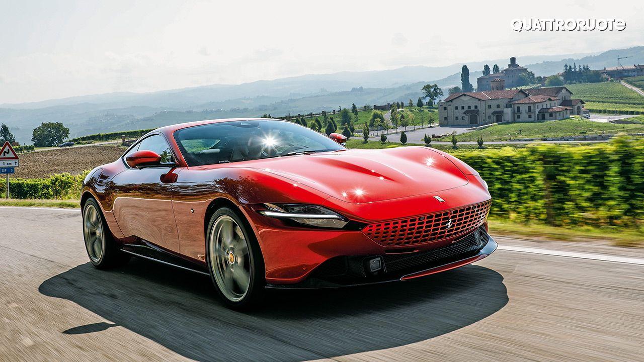 Ferrari Roma First Impressions Autox