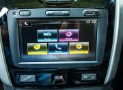 renault duster turbo petrol infotainment screen