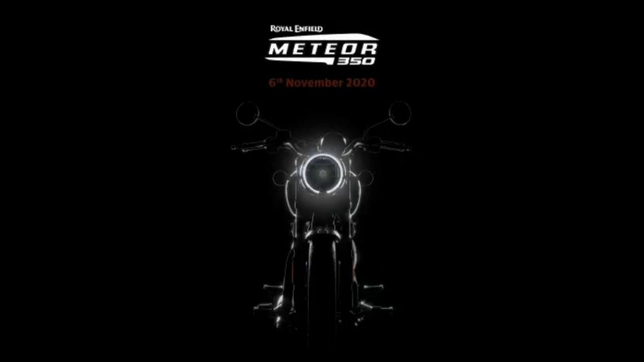 Royal Enfield Meteor Teased Launch In November