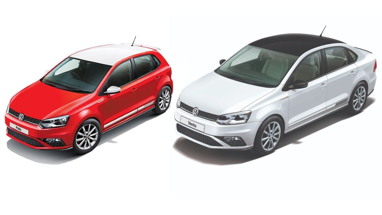 Volkswagen Polo Vento Red And White Edition