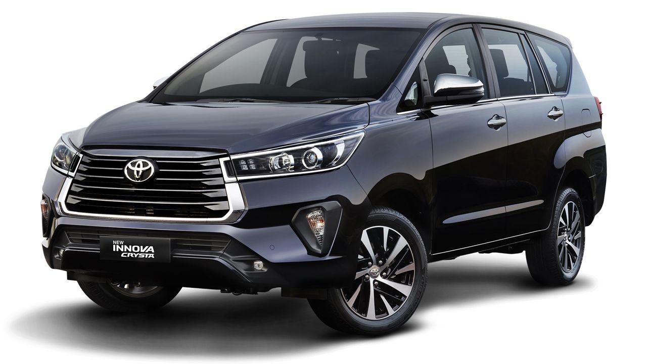 2020 Toyota Innova Crysta Facelift