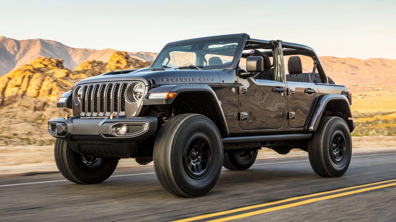 2021 jeep wrangler rubicon 392 debuts with a 6.4-litre v8