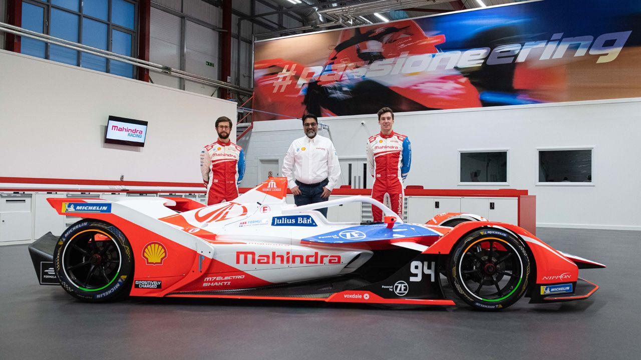 2021 Mahindra Racing Team With M7Electro
