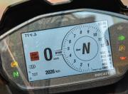 Ducati Panigale V2 instrument cluster