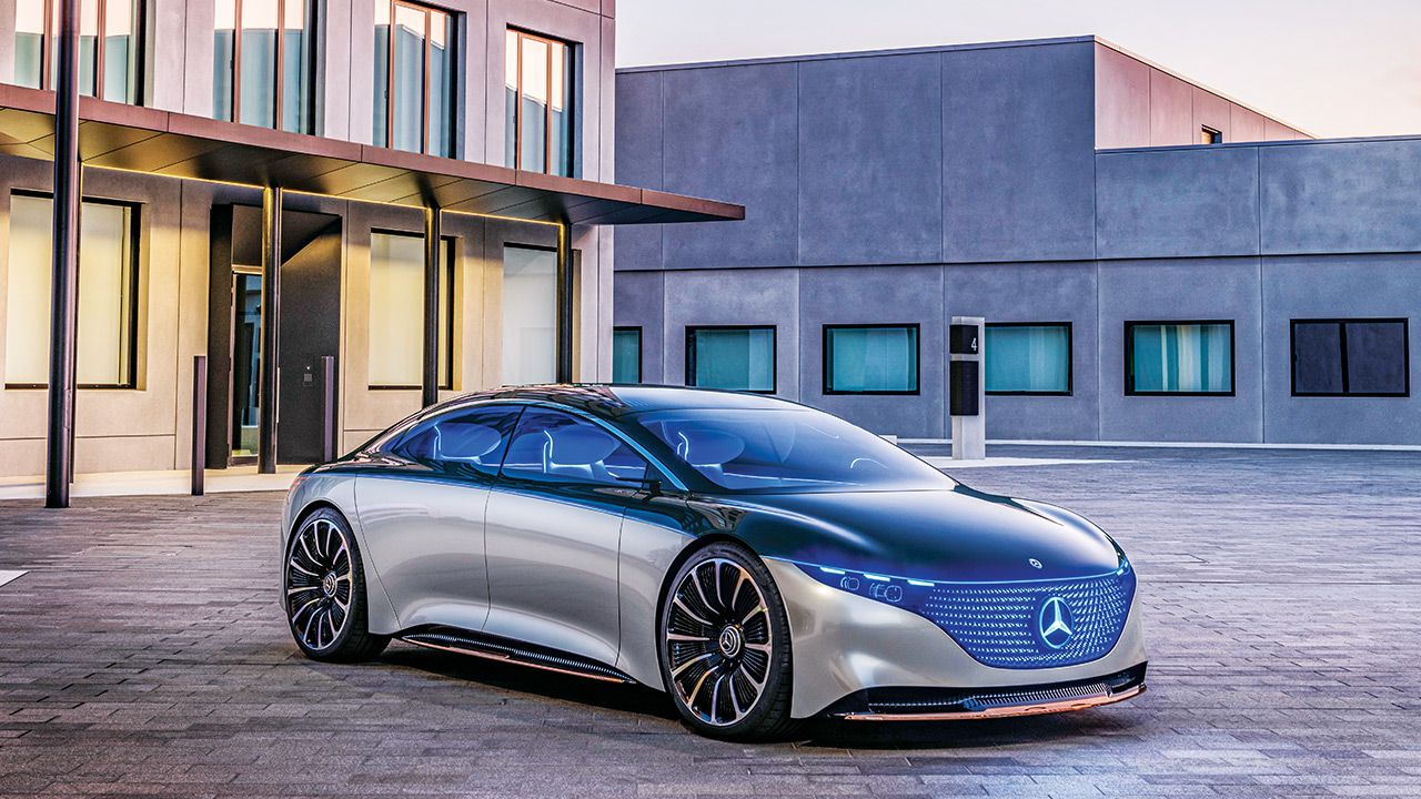 Mercedes Benz VISION EQS Concept
