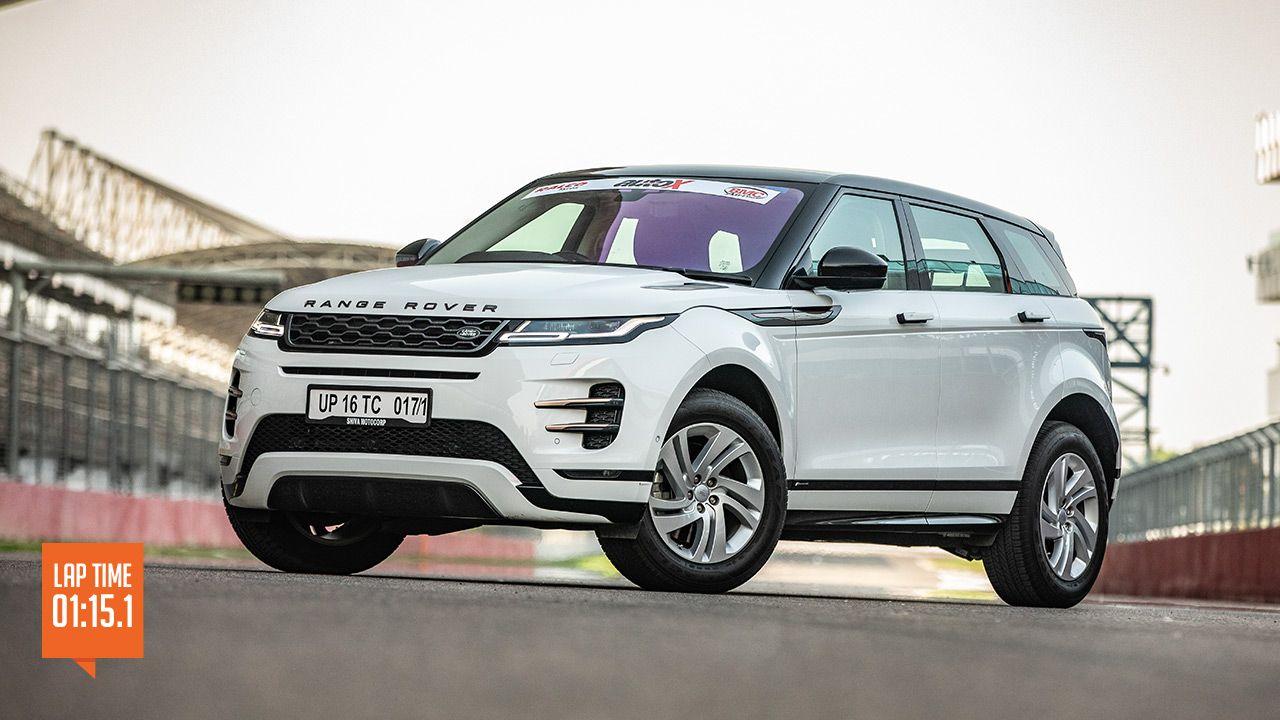 Range Rover Evoque Track Test