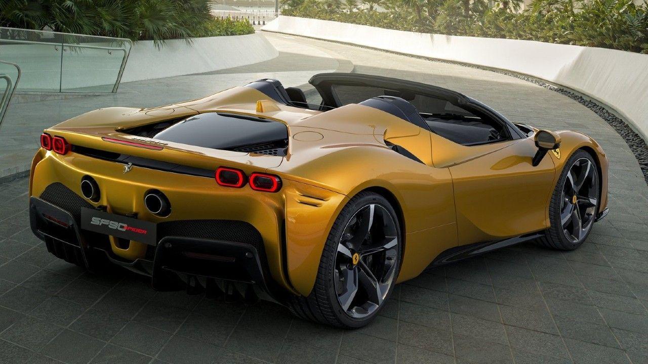 Ferrari Sf90 Stradale Spider Convertible Unveiled