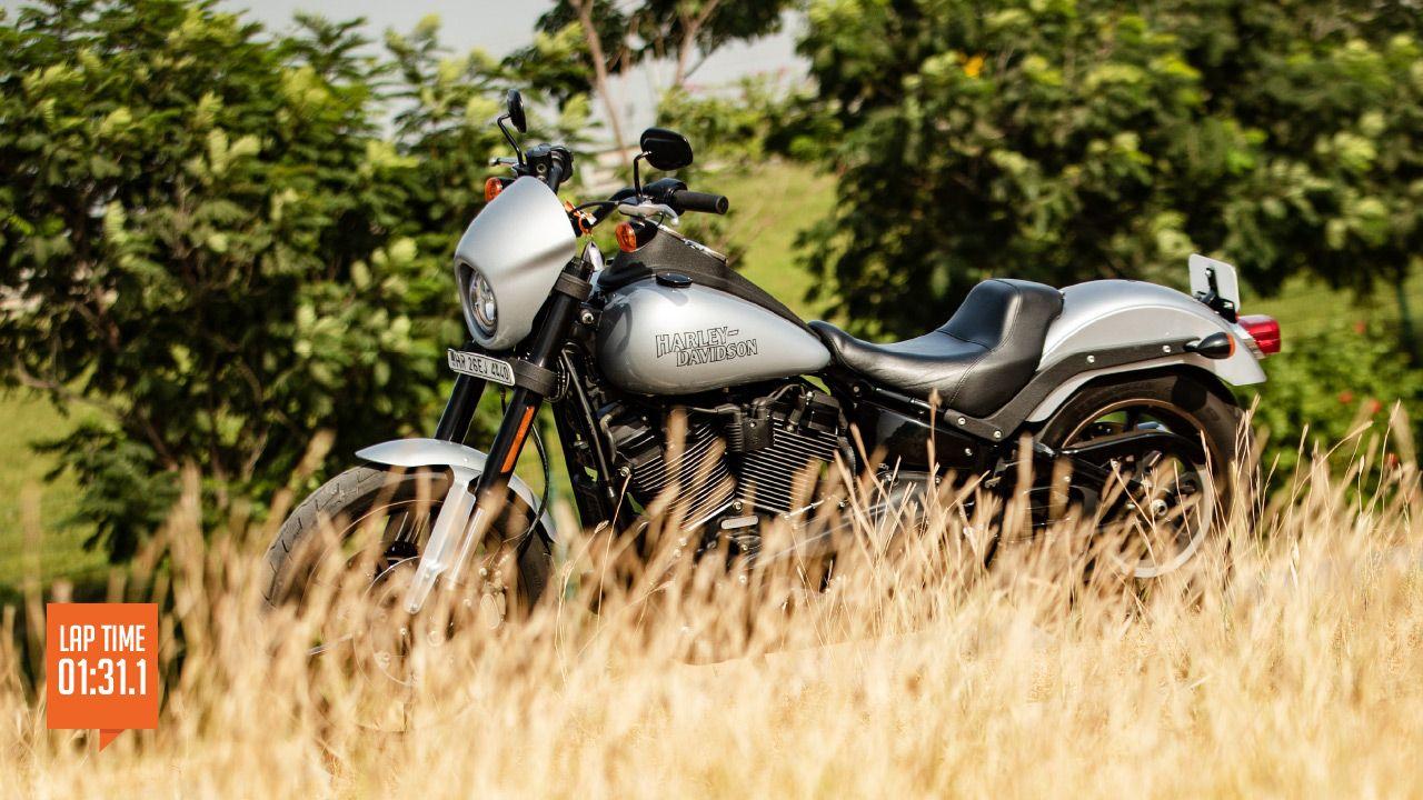Harley Davidson Low Rider S Track Test
