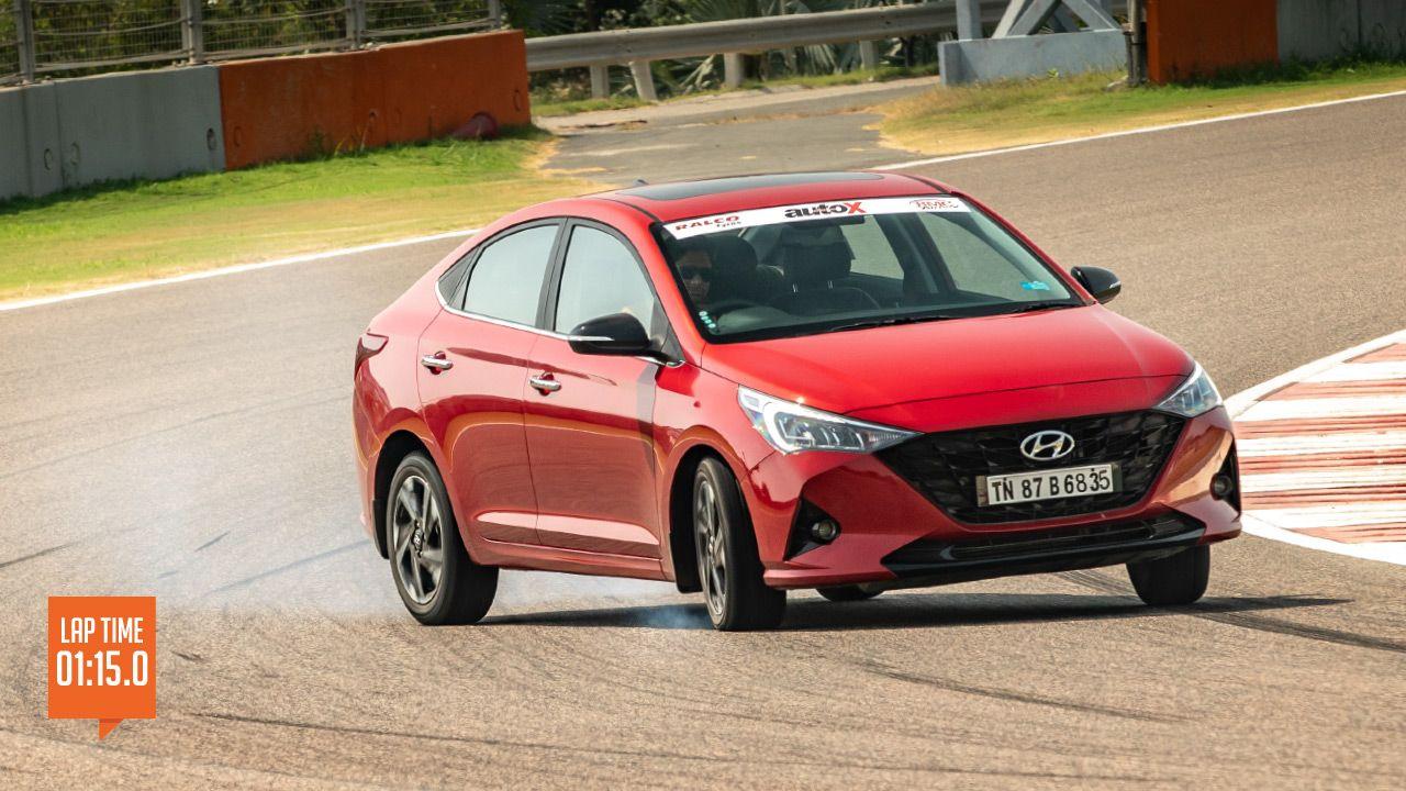 Hyundai Verna Track Test1